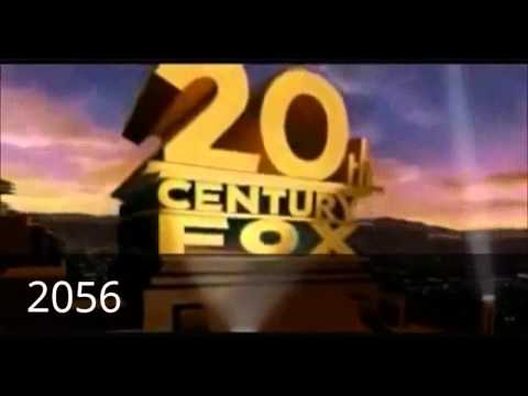 20th Century Fox Logo History 1992 2099 Youtube