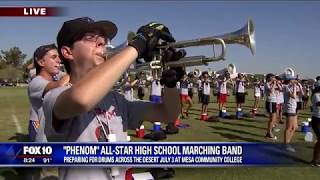 Phenom was LIVE with Fox 10 News