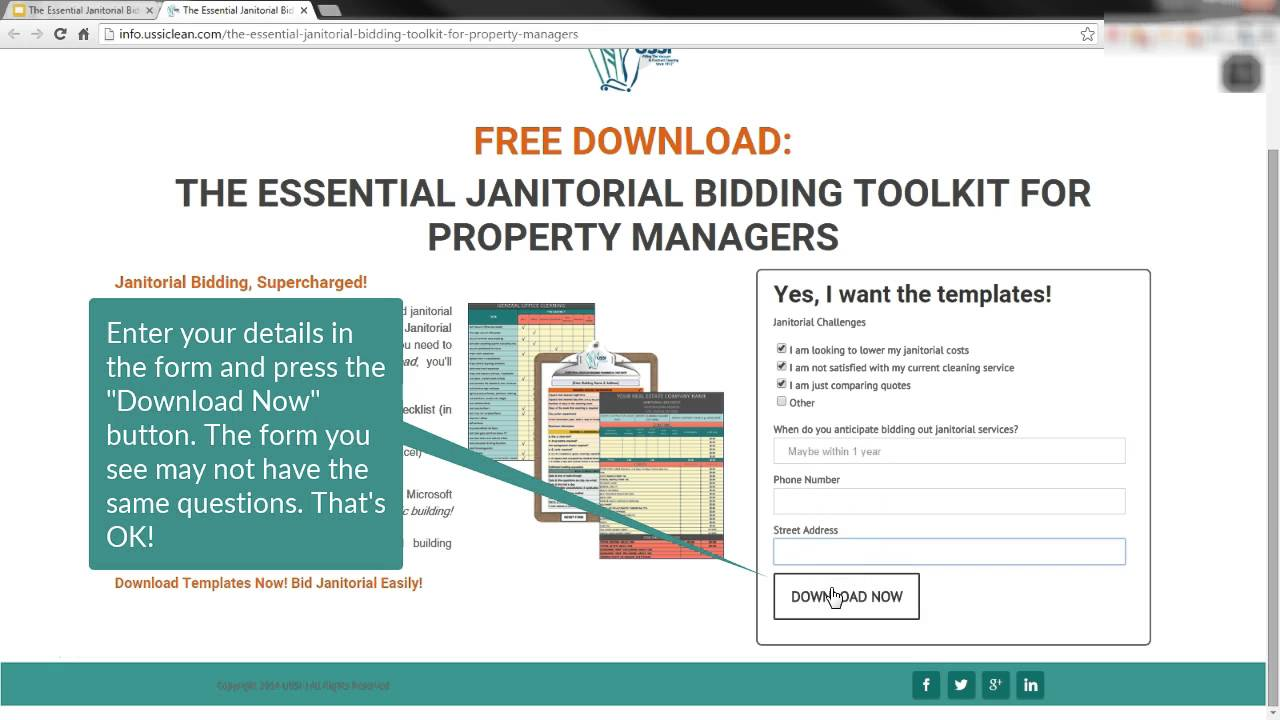 the essential janitorial bidding toolkit how to get started