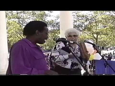 Johnny Pacheco, Hector Casanova y Jose Fajardo at Poe Park Video By Jose Rivera 9:10:95.mp4