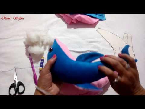 Soft Toys Dolphin