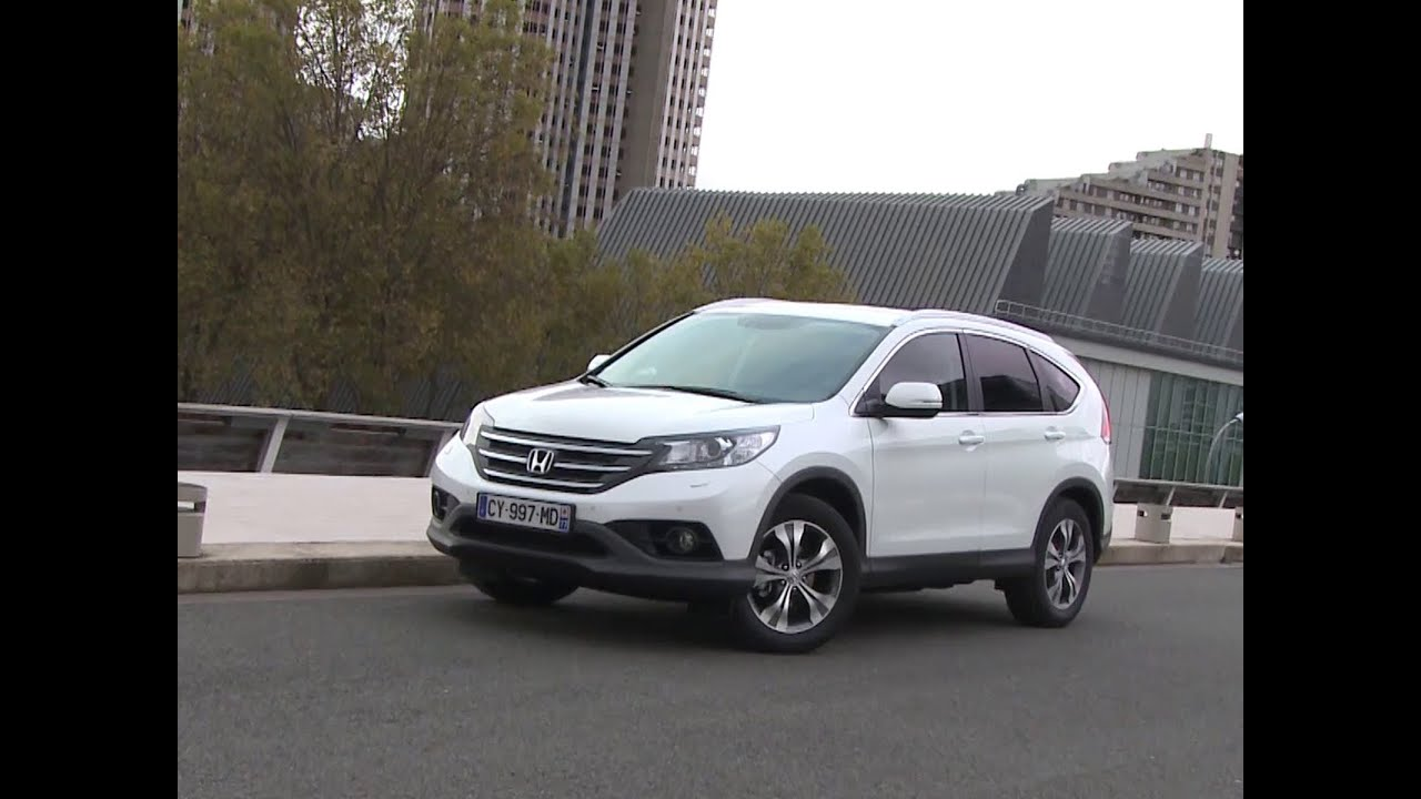 essai honda crv 16 idtec executive 2013 youtube