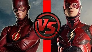 Video Flash VS Flash | Ezra Miller Flash vs Grant Gustin Flash | Who is FASTER?! download MP3, 3GP, MP4, WEBM, AVI, FLV Januari 2018