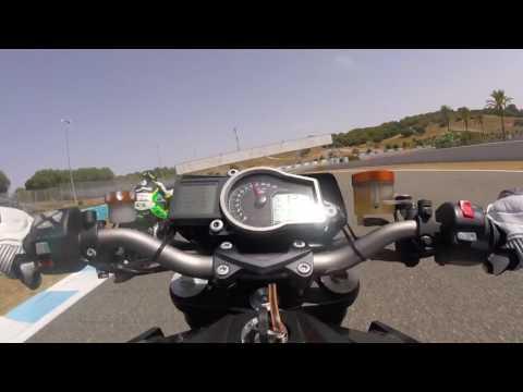 Ktm Superduke 1290 R Circuito de Jerez (27-8-16)