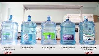 экспертиза. Вода бутилированная и из скважин