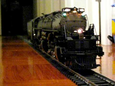 Usa Trains G Scale Big Boy Running Test Youtube