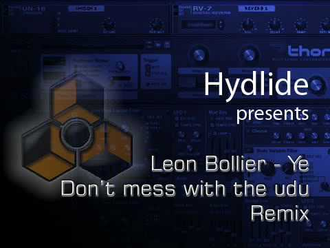 leon bolier - Ye - Dont mess with the udu remix