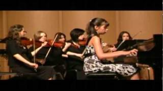 Sophie performing Piano Concerto in C Maj by Johann Baptist Vanhal
