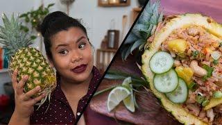 Pineapple Fried Rice l Jen Phanomrat