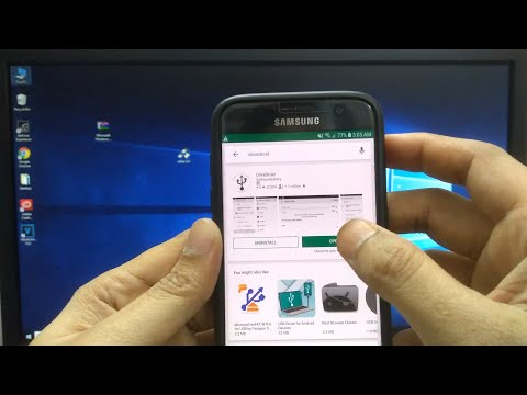 How To Install Windows On A PC From Android Phone (Make Android Phone A Bootable Flashdrive)