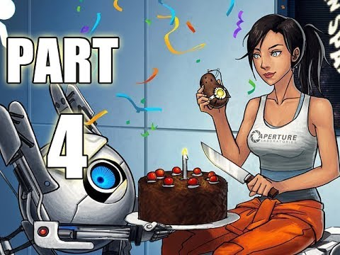 Let's Play Portal 2 - Part 4 (Gameplay & Commentary) - YouTube