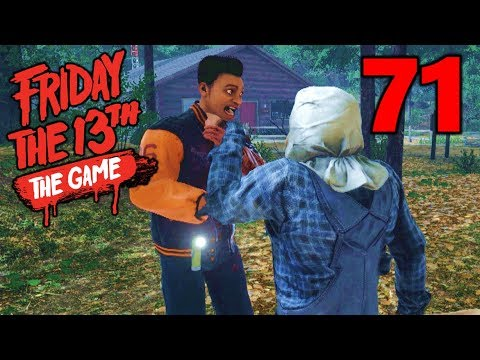 [71] Pure Jason RAGE!!! Flying Counselors?!? (Let's Play Friday The 13th The Game)