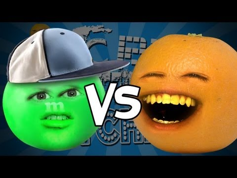 Annoying Orange - Epic Rap Battles Of Kitchenry (ft. NicePet