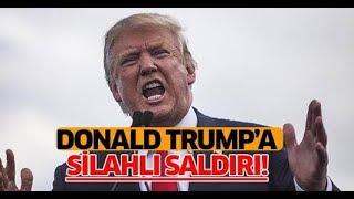 Trump'a saldırı  (Trump çok korktu)