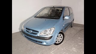 (SOLD) 4cyl 3 Door Hatch Manual Hyundai Getz 2006 Review