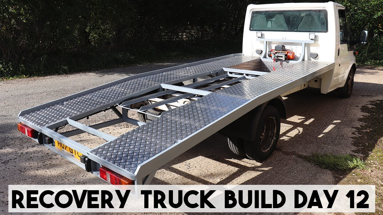Build A Truck >> Recovery Truck Build Day 12 A Load Of Sheet Ramp Truck