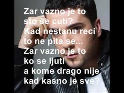 Vesna Pisarevic - Da znaš (lyrics) - YouTube