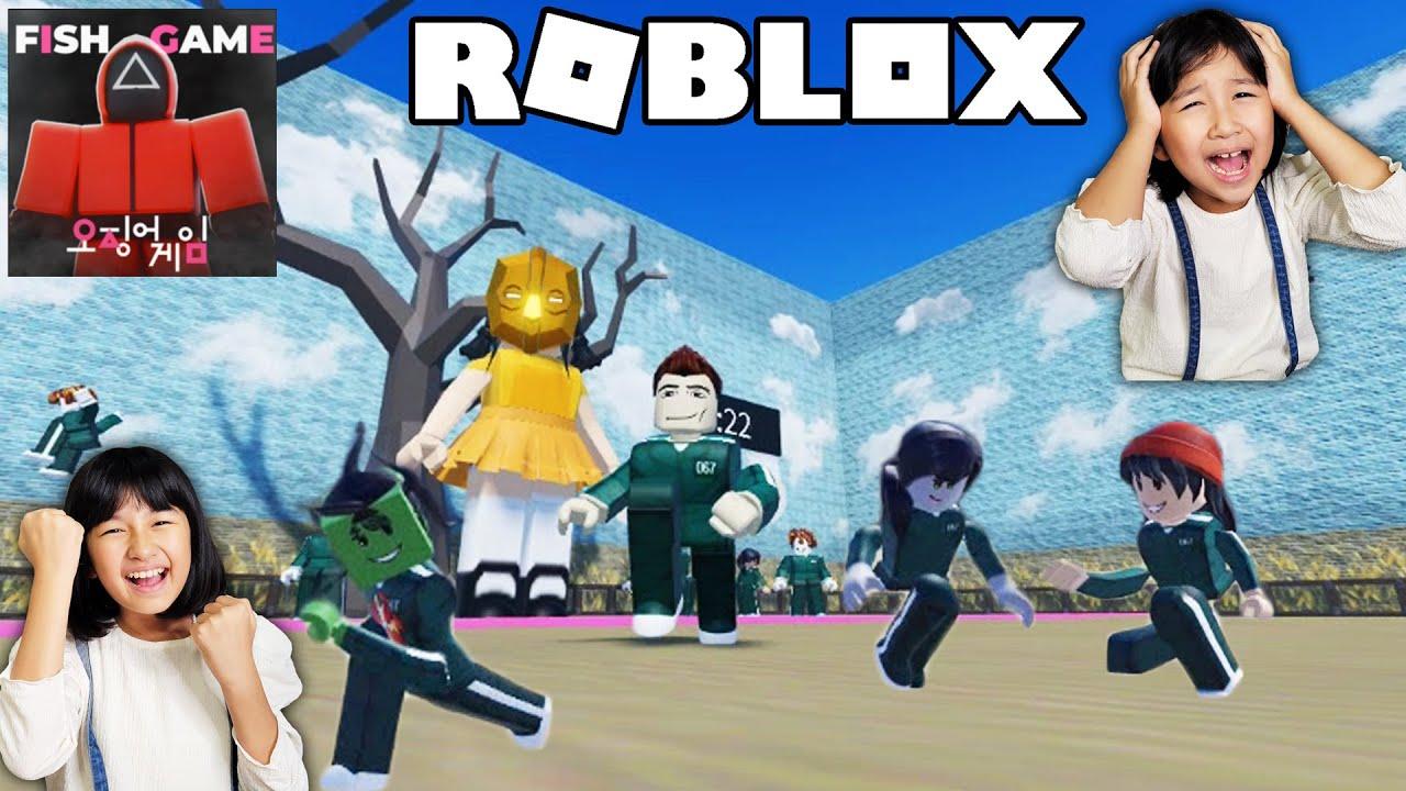 初ロブロックス!流行りのイカゲームやってみた!ママも参戦!全員でクリアするまで終われません!ROBLOX himawari-CH