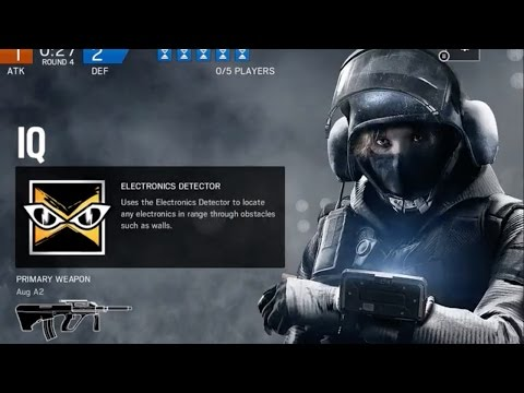 Rainbow Six Siege IQ Gameplay