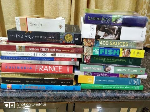 My Collection Of Cookery Books ! Chef Life ! Must Read Books !