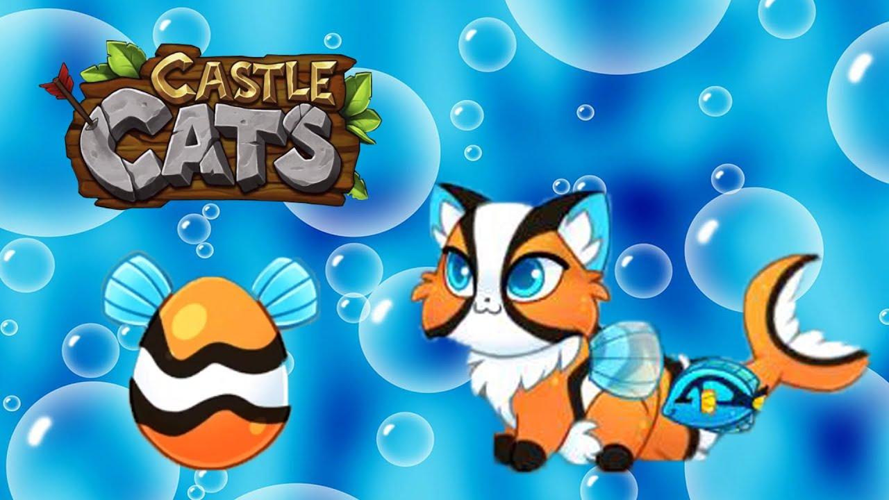 Кларки из Клоунского яйца в Castle Cats