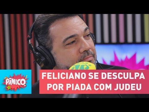 Após discussão, Feliciano se desculpa por piada com judeu