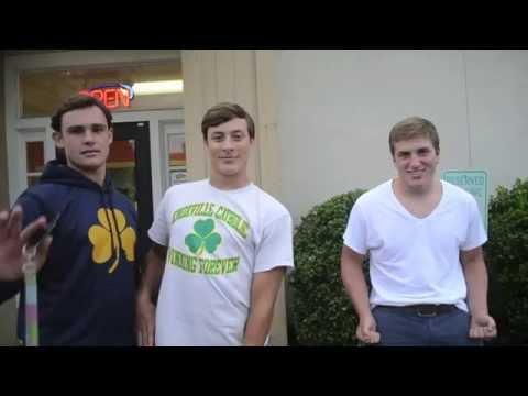 "Knoxville Catholic High School Football Team's ""Gatti's Wednesday"""