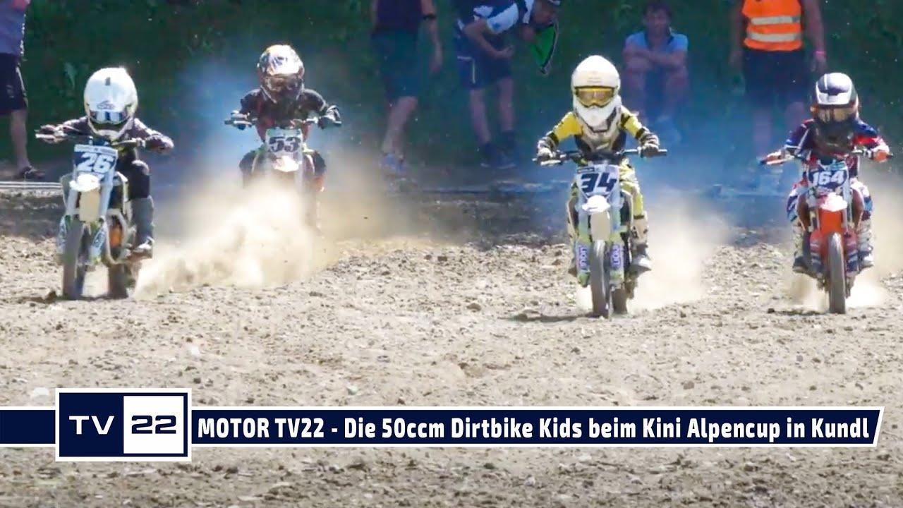 MOTOR TV22: Die 50ccm Dirt Bike Kids  beim KTM Kini Alpencup in Kundl 2021