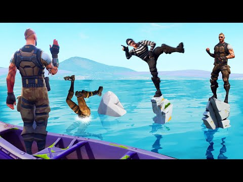 Simon Says DANCE But DON'T Fall Off! (Fortnite)