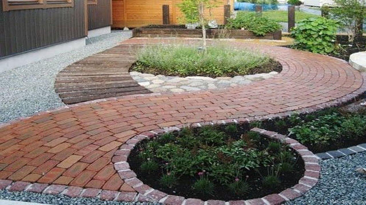 gravel patio ideas and pavers design