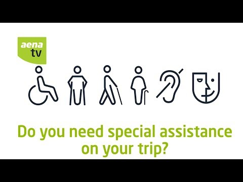Aena | People with reduced mobility