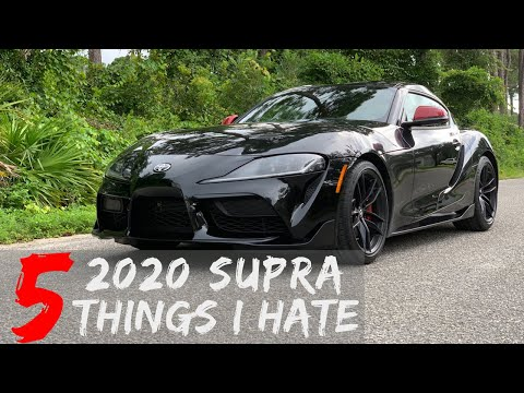 5 Things I Hate About The 2020 Supra!!  3 Weeks Later..