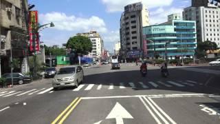 2014.7.27 台中市 快捷巴士 BRT 開放民眾搭乘首日 靜宜大學 - 台中火車站 路程景 03