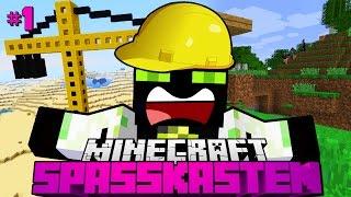 UNGEWOLLTER BAUARBEITER?! - Minecraft Spasskasten #01 [Deutsch/HD]
