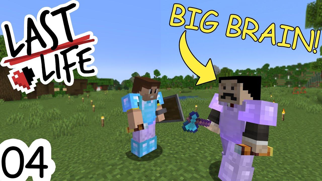 Download Minecraft Last Life SMP   Ep 04 - BIG BRAIN MUMBO!