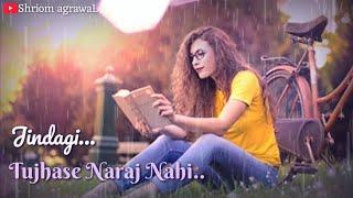 Tujhse Naraz Nahi Zindagi Female Cover whatsapp status | @S.A_Poetry