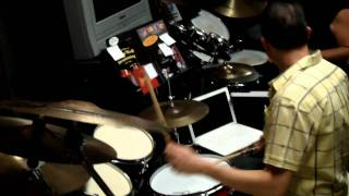 Daniel Glass Gene Hoglan Drum Solo Jam (Swing meets Metal)