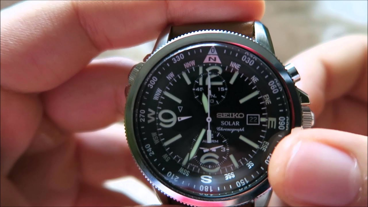 Seiko ssc081 adventure solar watch review gracious watch january 2016 giveaway youtube for Adventure watches