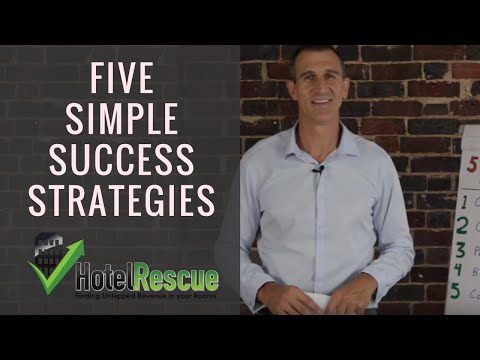 Five Simple Success Strategies for Running an Accommodation Business