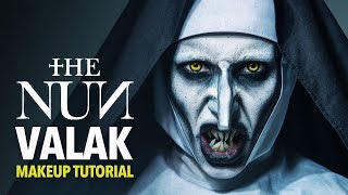 The nun - Valak makeup tutorial