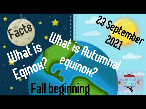 The autumnal equinox marks the end of summer. But is it the start of ...