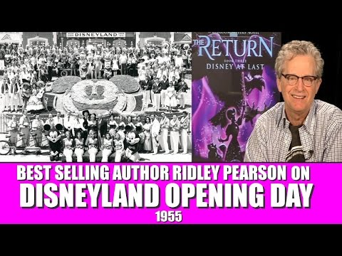 KINGDOM KEEPERS INTERVIEW WITH RIDLEY PEARSON - Disney At Last! Cool Disneyland Book!