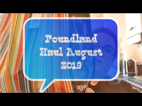 Poundland Haul | August 2019 | Homeware | Stationery | DIY | Bargains