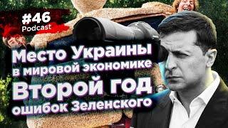 #46 Место Украины в мировой экономике / Второй год ошибок Зеленского