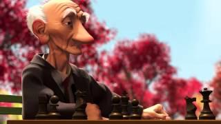 Старик играет в шахматы
