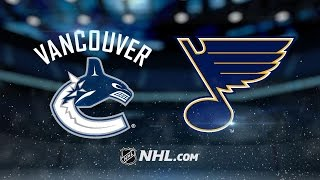 Paajarvi scores two goals as Blues down Canucks, 4-1