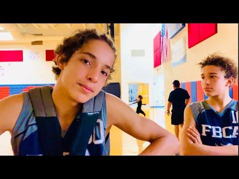 YOU BETTER NOT PUSH My BROTHER! High School Basketball & UNIVERSAL STUDIOS