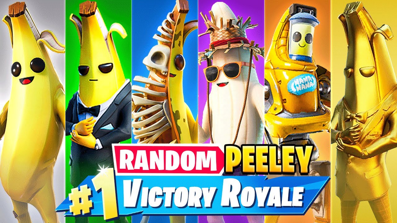 The *RANDOM* PEELY BOSS Challenge in Fortnite!