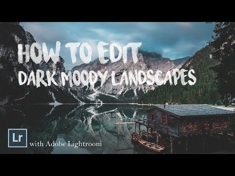 How to Edit #1 - Dark Moody Landscape (Free File)