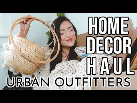 BOHEMIAN HOME DECOR HAUL: Urban Outfitters Home|| Sarah Belle